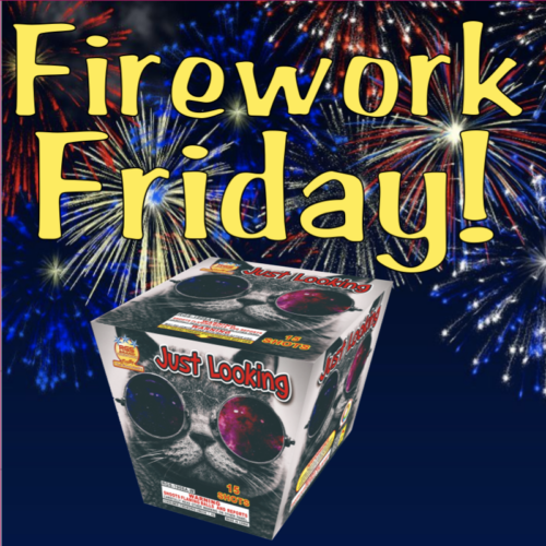 Firework Friday - Just Looking