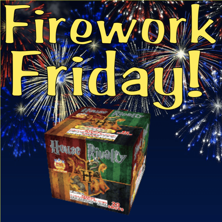 Firework Friday - House Rivalry