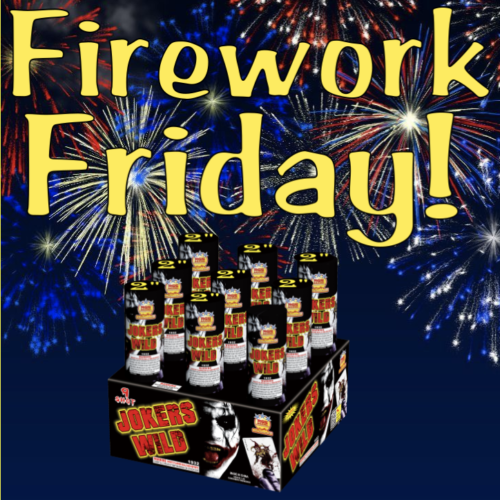 Firework Friday - Joker's Wild