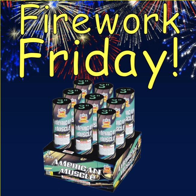 Firework Friday - American Muscle