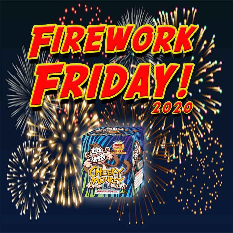 Firework Friday! - Cheeky Monkey